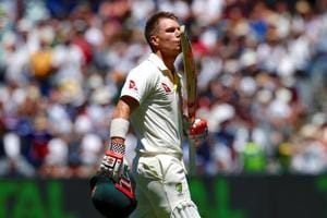 David Warner couldn't resist having a dig at former England cricket team member Graeme Swann.
