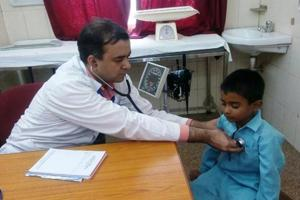 Uttarakhand has around 1,100 doctors in government hospitals as against the sanctioned posts of 2,700.