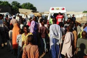 Suicide blast before morning prayers kills 14 in Nigeria mosque