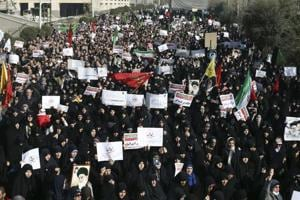 Tens of thousands gather across Iran for pro-regime rallies: State TV