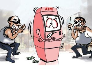 In Gurgaon, it's not just ATM guards who're in danger, but the...