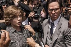 Mark Wahlberg and Michelle Williams in a still from All the Money in the World.