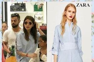 Anushka Sharma just jazzed up a classic shirt dress like no one else can.