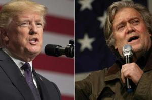 Trump blasts White House ex-chief strategist Bannon, says he has 'lost...