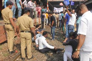 BEST buses, civic and railway infrastructure, private cars were damaged in the violence.