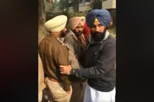 Lok Insaaf Party MLA Simarjeet Singh Bains went live on Facebook as he apprehended two policemen of the anti-power-theft wing.