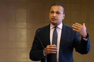 Anil Ambani, chairman of Reliance Communication.