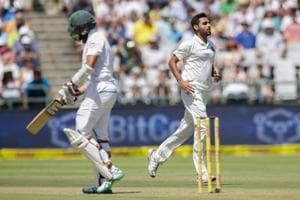 Bhuvneshwar Kumar was not entirely pleased despite his figures of 4/87 on Day 1 of the 1st Test in Cape Town.