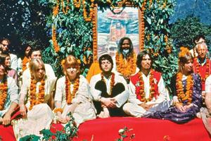 The Beatles came together at the Rishikesh ashram in the spring of