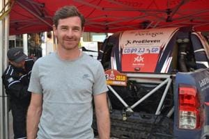 Andre Villas-Boas has always had a passion for motorsports and is competing at the Dakar Rally this year with Toyota Overdrive 4x4.