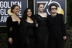 Wearing black to the Golden Globes will change nothing