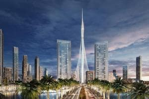 Move over Burj Khalifa, world's tallest building is coming up around...