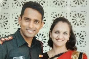 Martyred soldier's wife wants to join Indian Army as a tribute to her...