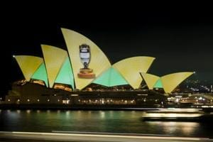 Sydney Opera House lights up after Australia's 4-0 Ashes rout of...
