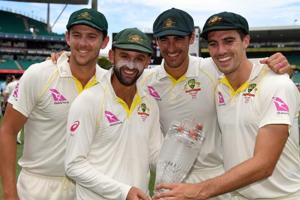 Four-nil with four wicket-takers - Ashes history for Australia attack