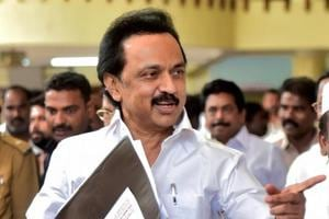DMK working president MKStalin said the governor has refused to conduct a floor test in the state assembly despite several pleas by the Opposition.