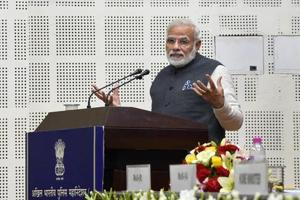 PM Modi asks top police officials to deal with cyber crime on priority