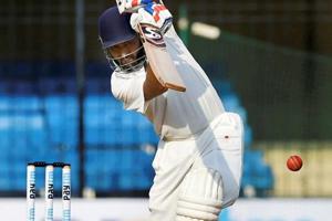 Vidarbha batsman Wasim Jaffer hit the winning runs in the Ranji Trophy final against Delhi in Indore.