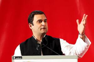 Rahul Gandhi targeted Modi government during a visit to Bahrain on...