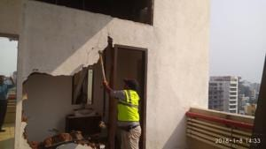 Mumbai civic body razes illegal extensions at actor Shatrughan Sinha's...