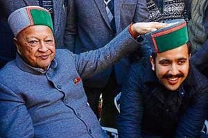 Vikramaditya made his assembly debut from Shimla Rural — a seat his father Virbhadra Singh vacated for him.