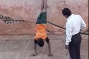 Telangana: Hostel warden forces two boys to perform handstands, beats...