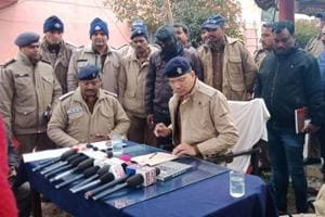 Two criminals from Uttar Pradesh held after encounter in Haridwar