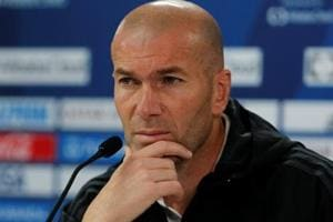Zinedine Zidane insists he doesn't want signings despite Real Madrid...