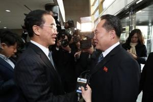 North and South Korea start their first official talks in two years at...