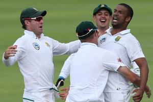 Vernon Philander took the final three India second innings wickets in...
