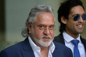 Controversial businessman Vijay Mallya at an extradition hearing at Westminster Magistrate's Court in central London last year.