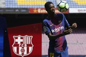 Ousmane Dembele puts in good show after frustrating start with...