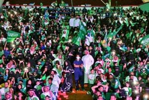 Saudi stadiums to open doors to women on Friday