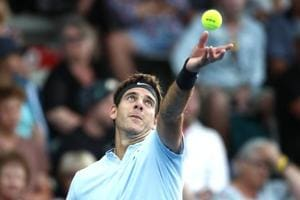 Juan Martin del Potro too strong for Denis Shapovalov at Auckland...