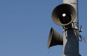 Registration of loudspeakers: Forms available at police stations