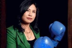 LSarita Devi elected women boxers' representative in Boxing...