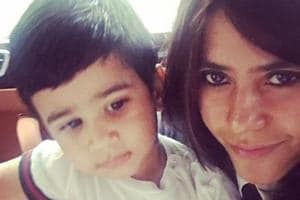 TV and film producer Ekta Kapoor says that she loves spending time with her nephew Laksshya, son of Tusshar Kapoor.