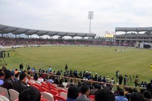 Unused international cricket stadium in Dehradun awaits shot in the...