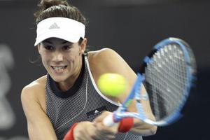 Garbine Muguruza out of Sydney International tennis with thigh injury
