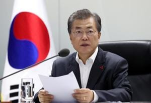 South Korea's Moon: Denuclearisation is path to peace
