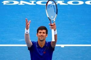 Novak Djokovic made a winning return to tennis on Wednesday after six...
