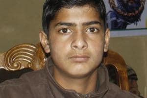 Afzal Guru's son Galib Guru.