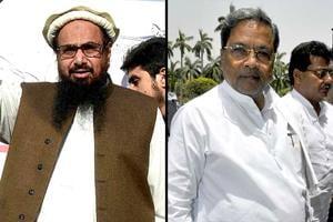 Karnataka CM Siddaramaiah echoing Hafiz Saeed's views, says BJP