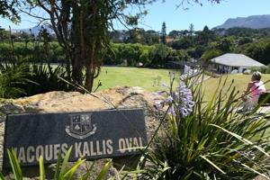 Jacques Kallis became Wynberg Boys' High School's most illustrious product and so the school named its scenic cricket ground after the South Africa cricket team legend.