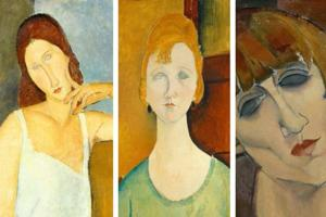 An exhibition of Modigliani paintings in Italy turned out to be full...