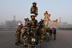 Photos: BSF's all-woman daredevil biker team to debut on...