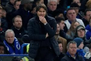 Manager Antonio Conte defended his goal-shy strikers but insists the...