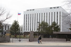Russia angry over US renaming embassy street after slain Putin critic