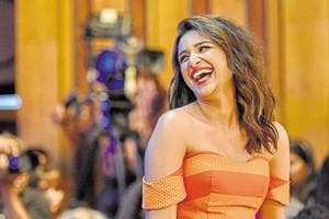 Parineeti Chopra during HT Most Stylish Award 2017 at Taj Lands End, Bandra on Saturday March 24, 2017 in Mumbai.
