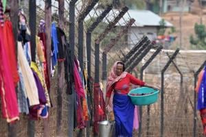 Indian forces stop attempts by Myanmarese to raise fences along...
